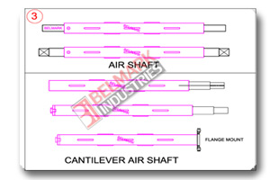 Air Shaft / Cantilever Air Shaft